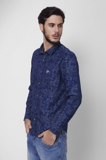 U.S. POLO ASSN. Floral Printed Full Sleeves Shirt