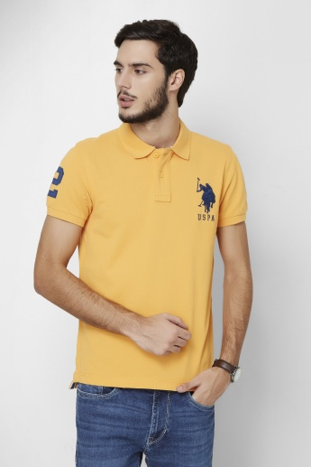 U.S. POLO ASSN. Half Sleeves Polo Neck T- Shirt