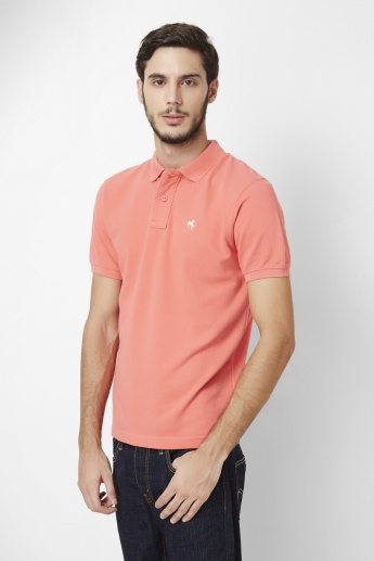WRANGLER Half Sleeves Polo Neck T-Shirt
